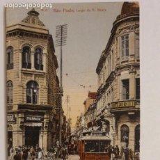 Postales: BRASIL - SAO PAULO - TRANVÍA - P47562. Lote 246020945