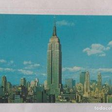 Postales: NEW YORK 1969 - EMPIRE STATE BUILDING - DEXTER PRESS- CIRCULADA. Lote 246104565
