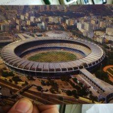 Cartes Postales: POSTAL RIO DE JANEIRO VISTA AÉREA DO ESTADIO MUNICIPAL DO MARACANÁ S/C. Lote 247076940