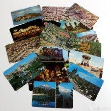 Postales: MEXICO POSTALES LOTE DE 19 POSTALES AÑOS 70 /73 ,NUEVAS ESCRITAS Y CIRCULADAS. Lote 247720995