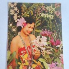 Cartoline: ANTIGUA POSTAL DE HAWAII ESTADOS UNIDOS, ESCRITA 1965, VER FOTOS. Lote 250177265