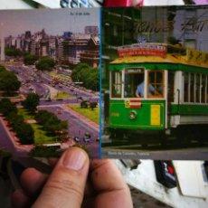 Cartoline: POSTAL BUENOS AIRES AV. 9 DE JULIO Y BARRIO DE CABALLITO TRANVÍA S/C. Lote 251681055