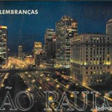 Postales: DESPLEGABLE FOTOGRÁFICO SAO PAULO - BRASIL. Lote 252791380