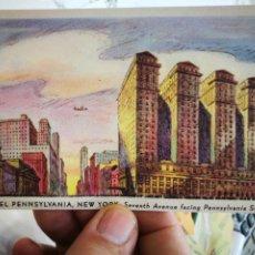 Postales: POSTAL HOTEL PENNSYLVANIA NEW YORK S/C. Lote 253899200