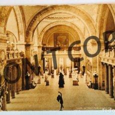 Postales: VINTAGE POSTCARD STATUARY HALL OF METROPOLITAN MUSEUM OF ART, NEW YORK.. Lote 254484590