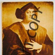 Postales: VINTAGE POSTCARD CHRISTOPHER COLUMBUS. METROPOLITAN MUSEUM OF ART, NEW YORK.. Lote 254484890