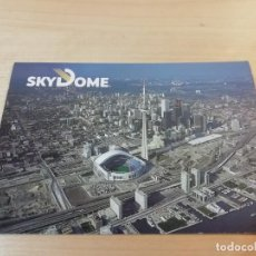 Postales: POSTAL SKYDOME STADIUM (RODGERS CENTRE) CN TOWER TORONTO CANADÁ LARRY FISHER THE POSTCARD FACTORY. Lote 254631355