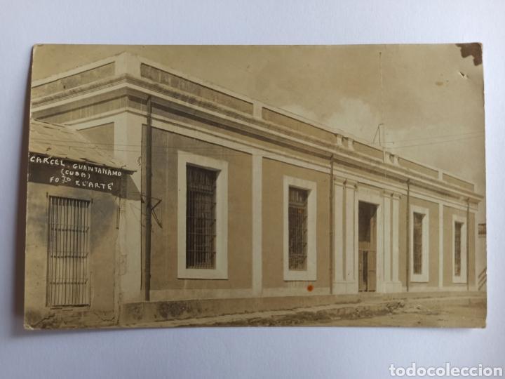 FOTOGRAFÍA POSTAL CÁRCEL DE GUANTÁNAMO, CUBA. FOTO EL ARTE. (Postales - Postales Extranjero - América)