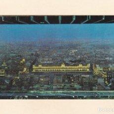 Postales: POSTAL PANORAMICA NOCTURNA DEL ZOCALO DESDE MURALTO EN TORRE LATINO AMERICANA. MEXICO CITY (MEXICO). Lote 261585600