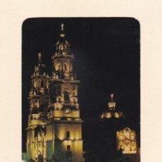 Postales: POSTAL VISTA NOCTURNA DE LA CATEDRAL DE MORELIA. MICHOACAN (MEXICO). Lote 261588130