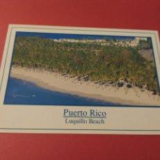 Postales: PUERTO RICO - LUQUILLO BEACH 1997 - L-1308-E - ESCRITA. Lote 261819425