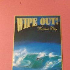 Postales: BOOGIE BOARDING - HONOLULU HAWAI 1997 - ISLAND HERITAGE - ESCRITA. Lote 261820045