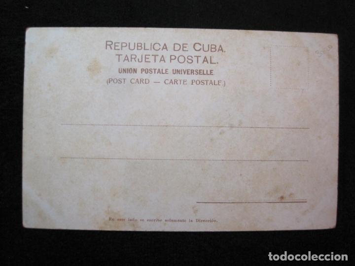 Postales: CUBA-HABANA-EL INGENIO MERCEDITA-FERROCARRIL-REVERSO SIN DIVIDIR-POSTAL ANTIGUA-(80.388) - Foto 3 - 262281450