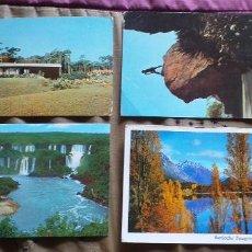 Postales: ARGENTINA-V54-CATARATAS DEL YGUAZU-SANTIAGO-CERRO STA LUCIA-URUGUAY-PUNTA DEL ESTE. Lote 262598955