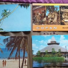 Postales: HONDURAS-V54-RUINAS DE COPAN-LA MOSQUITIA-HABANA-PLAYA SANTA MARIA DEL MAR-MIRADOR DEL CENTRO TURIST. Lote 262599565