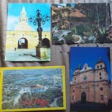 Postales: COLOMBIA-V54-CARTAGENA-LA PUERTA DEL RELOJ-CERRO DE LA POPA-IGLESIA DE SAN PEDRO CLAVER-BOGOTA-CENTR. Lote 262606135
