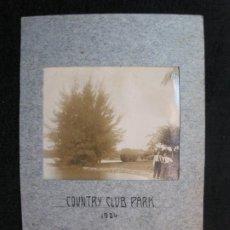 Postales: COUNTRY CLUB PARK-AÑO 1924-FOTOGRAFIA ANTIGUA-(80.538). Lote 262623630