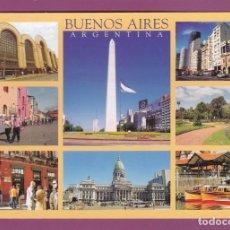 Postales: POSTAL SHOPPING ABASTO. OBELISCO, PATIO BULLRICH. CAMINITO, PALERMO ... BUENOS AIRES (ARGENTINA). Lote 262806355