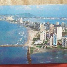 Postales: COLOMBIA-V54-CARTAGENA-PANORAMICA AEREA. Lote 262820090
