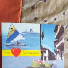Postales: COLOMBIA-V54-CARTAGENA-BAHIA-CALLE COLONIAL-PALENQUERA. Lote 262820230