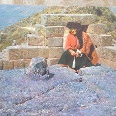 Postales: PERU-V54-CUZCO-AUTOCTONA DE PISAC. Lote 262821100