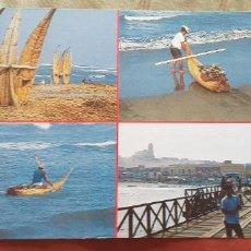 Postales: PERU-V54-PUERTO DE HUANCHACO. Lote 262821245