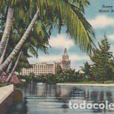 Postales: ESTADOS UNIDOS ** & POSTAL, FLORIDA, RONEY PLAZA HOTEL, MIAMI BEACH (217). Lote 262866215