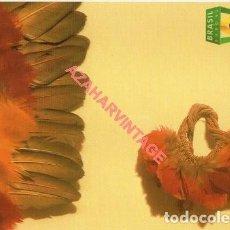 Cartes Postales: POSTAL PUBLICITARIA DE BRASIL, EXPO 92, NO CIRCULADA. Lote 262921920