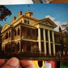 Postales: POSTAL DISNEYLAND HAUNTED MANSIÓN S/C. Lote 263055285
