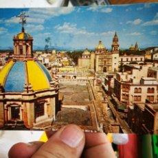 Postales: POSTAL MEXICO PANORÁMICA DESDE LA CATEDRAL ESCRITA. Lote 263066300
