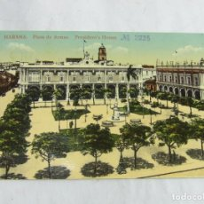 Postales: POSTAL DE MATANZAS, CUBA, PLAZA DE ARMAS, CIRCULADA. ED. JORDI.. Lote 263555390