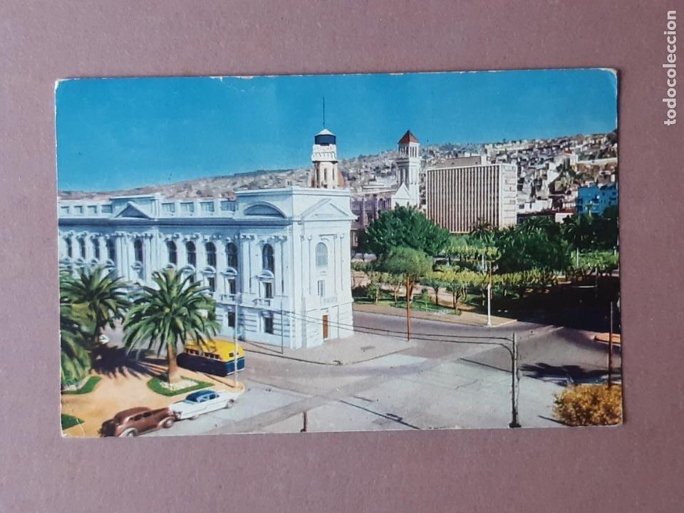 POSTAL 509/5 CODA Y CÍA. BIBLIOTECA SEVERÍN. VALPARAISO. CHILE. ESCRITA SIN CIRCULAR 1960. (Postales - Postales Extranjero - América)