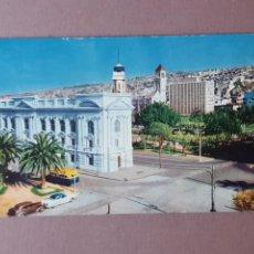 Postales: POSTAL 509/5 CODA Y CÍA. BIBLIOTECA SEVERÍN. VALPARAISO. CHILE. ESCRITA SIN CIRCULAR 1960.. Lote 265525549