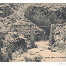 Postales: CHILE - SALIDA DEL TUNEL SALTO DEL SOLDADO - CIRCULADA EN 1911. Lote 265857804