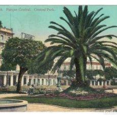 Postales: LA HABANA (CUBA) - PARQUE CENTRAL - CIRCULADA EN 1913. Lote 265859539