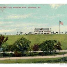 Postales: PITTSBURGH (ESTADOS UNIDOS) - SCHENLEY PARK / PITTSBURGH GOLF CLUB - CIRCULADA EN 1914. Lote 266154598