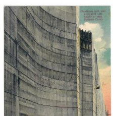 Postales: CONSTRUCCION DEL CANAL DE PANAMA - COMPUERTA DE MIRAFLORES - CIRCULADA. Lote 266156258