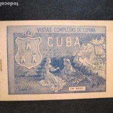 Postales: CUBA-VISTAS COMPLETAS DE ESPAÑA-ALBUM CON VARIAS VISTAS DIBUJADAS-VER FOTOS-(K-3184). Lote 267829819