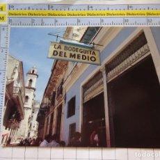 Postales: POSTAL DE CUBA. CIUDAD DE LA HABANA RESTAURANTE LA BODEGUITA DEL MEDIO. 278. Lote 268993804