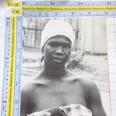 Postales: POSTAL DE CUBA. GUANTANAMO 1991 ITINERARIO AFROCUBANO. MUJER FOLKLORE TIPISMO. 282. Lote 268994149