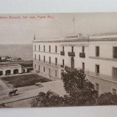 Postales: PUERTO RICO - SAN JUAN - CUARTELES DE INFANTERÍA - LAXC - P52127. Lote 269283148
