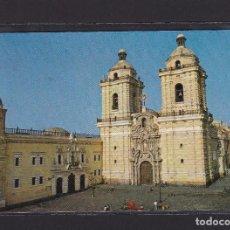 Postales: POSTAL DE PERÚ - DCR-70 PLAZUELA, IGLESIA Y CONVENTO DE SAN FRANCISCO (1542), LIMA.. Lote 269414813