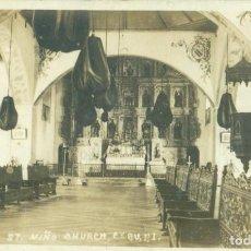 Postales: FILIPINAS. SANTO NIÑO DE CEBÚ. FOTOGRÁFICA. ESCRITA EN 1958.. Lote 269590458