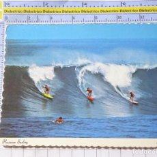 Postales: POSTAL DE ESTADOS UNIDOS. HAWAII. SURF SURFISTAS. 581. Lote 270379498