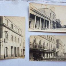 Postales: CUBA CAIBARIEN Y SANTA CLARA FOTOGRAFICAS COLONIA ESPAÑOLA COCHES EMIGRACION GENTE AÑO 1924 LP17. Lote 276251273
