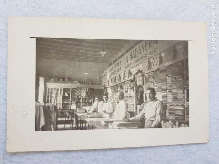 BAVIACORA MEXICO LA HABANERA IGLESIAS Y SANJURJO NOVEDADES CONFECCION MODA 1929 FOTOGRAFICA (Postales - Postales Extranjero - América)