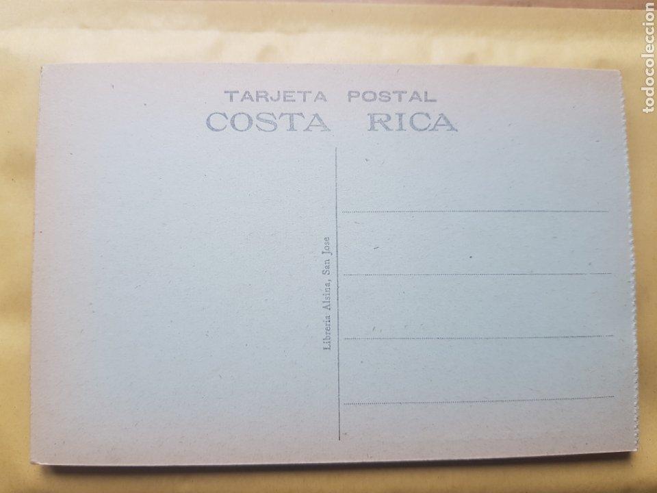 Postales: SAN JOSE DE COSTA RICA VISTA CORREOS Y TELEGRAFOS LIBRERIA ALSINA - Foto 2 - 276252728