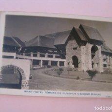 Postales: POSTAL FOTOGRAFICA DE CHILE. GRAN HOTEL TERMAS DE PUYEHUE OSORNO. FOTO MARIO GARCIA.. Lote 277561928
