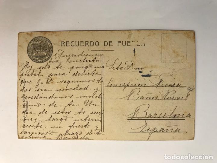 Postales: PUEBLA, Mexico.., Postal antigua. Cátedral interior. Edic., El Escritorio.. (h.1910?) circulada.. - Foto 2 - 278186078