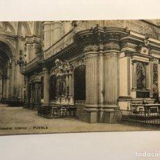 Postales: PUEBLA, MEXICO.., POSTAL ANTIGUA. CÁTEDRAL INTERIOR. EDIC., EL ESCRITORIO.. (H.1910?) CIRCULADA... Lote 278186078